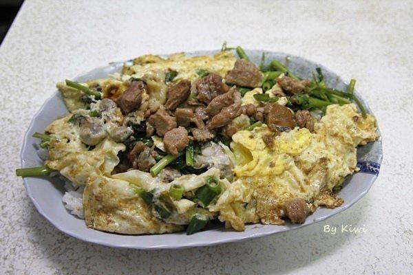 彰化民生路蚵仔煎|蚵仔蓋飯煎的蛋香溢滿料多實在,彰化老店銅板美食推薦