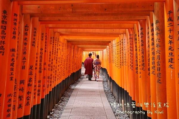 【京都景點】伏見稻荷大社x千鳥居的世界 @JR西日本稻荷站(伏見稲荷大社、京都自由行)