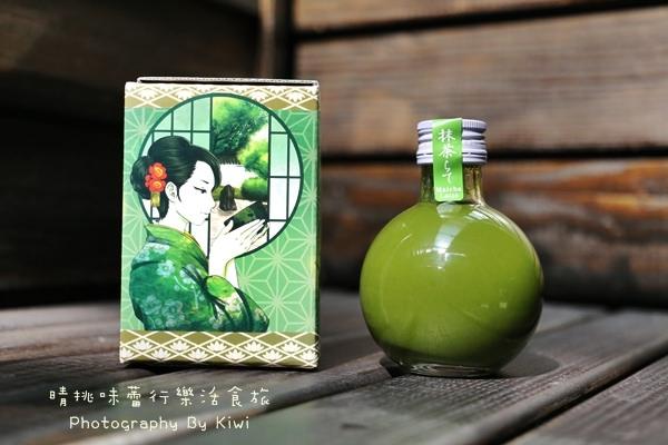 【宅配美食】抹茶拿鐵酒Matcha latte分享 日本北岡本店 @在家也能擁有日本進口創意飲品(可添加牛奶/柑橘)