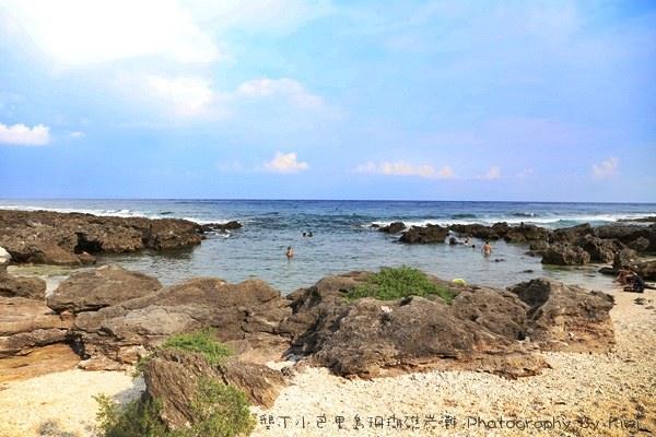 【墾丁必玩景點】超秘境!墾丁度假聖地之珊瑚礁岩沙灘 @不用飛國外就能享受海島國家的FU。露天玩水區,適合浮潛的好去處 (親子遊/一日遊/兩日遊)