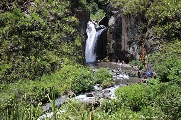 南投埔里|夢谷瀑布,南人溪溪谷,世外桃源般的仙境,埔里秘境