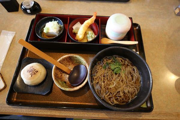 【日本信州美食】沒有彈性只有麵香的蕎麥麵是好味道!信州安曇野そば庄