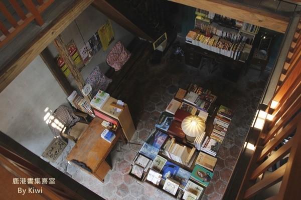 【彰化鹿港】品味老時光流動的萬卷書之書集喜室(獨立書店、二手書店)