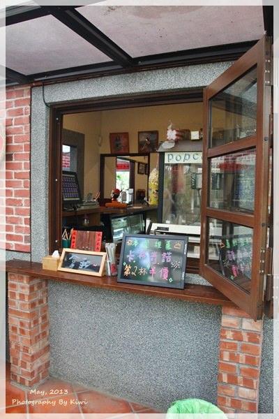 田尾美食|窄巷古厝咖啡。田尾公路花園內小秘境