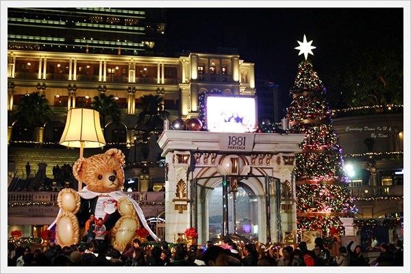 【尖沙咀】白色耶誕/跨年倒數。O。海港城*1881 Heritage 夢幻童話廣場*天星維港遊跨年。O。