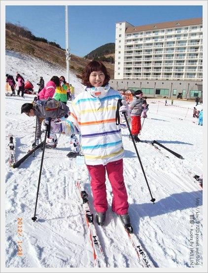 【釜山】熱血沸騰之滑雪活動:伊甸園滑雪場渡假村(初體驗)、道地汗蒸幕