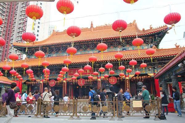 【香港九龍】香港超靈驗廟宇之黃大仙祠堂(求籤)