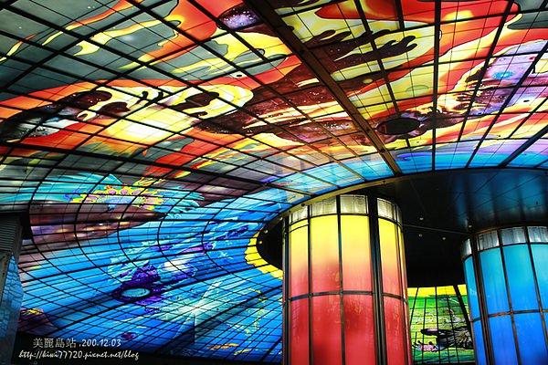 【高雄景點】美麗島站(光之穹頂)高雄捷運