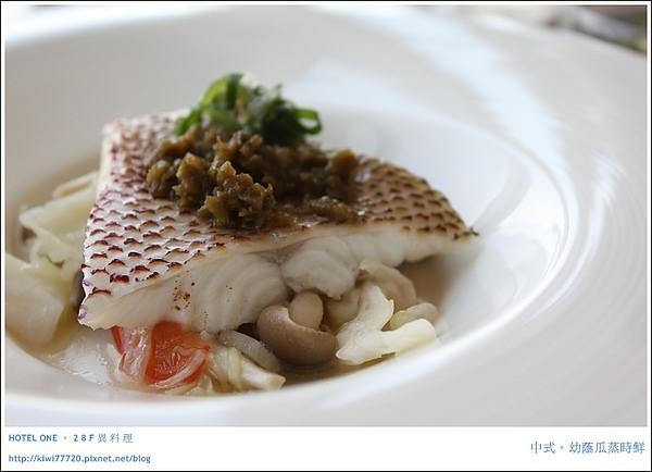 【台中】HOTEL ONE 亞緻大飯店:28F異料理(主食篇)